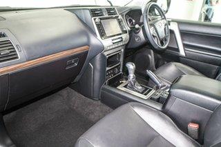 2018 Toyota Landcruiser Prado GDJ150R MY18 VX (4x4) Silver Pearl 6 Speed Automatic Wagon