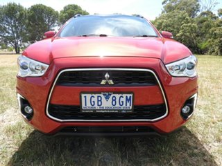 Mitsubishi ASX XLS Red Automatic Wagon