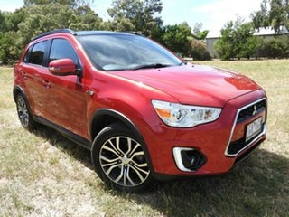 Mitsubishi ASX XLS Red Automatic Wagon.