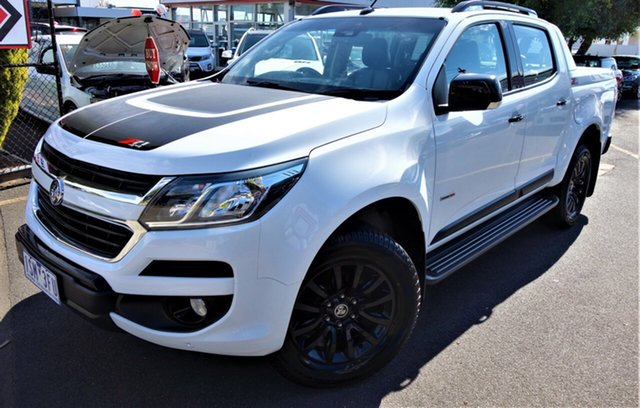 Used Holden Colorado RG MY17 Z71 Pickup Crew Cab Seaford, 2016 Holden Colorado RG MY17 Z71 Pickup Crew Cab White 6 Speed Sports Automatic Utility