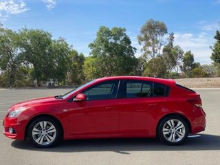 2013 Holden Cruze JH Series II MY13 SRi Red 6 Speed Manual Hatchback
