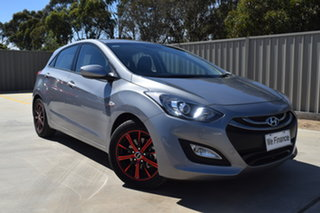 2014 Hyundai i30 GD3 Series II MY16 Active Silver 6 Speed Sports Automatic Hatchback.