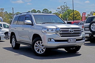 2018 Toyota Landcruiser VDJ200R VX Classic Silver 6 Speed Sports Automatic Wagon.