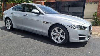 2016 Jaguar XE MY17 Prestige Silver 8 Speed Automatic Sedan.