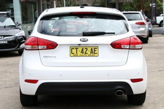 2016 Kia Cerato YD MY16 S White 6 Speed Automatic Hatchback