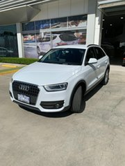 2012 Audi Q3 8U MY13 TFSI S Tronic Quattro White 7 Speed Sports Automatic Dual Clutch Wagon.