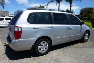 2009 Kia Carnival VQ MY09 EX Luxury Silver 4 Speed Sports Automatic Wagon.