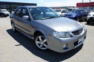 2003 Mazda 323 BJ II-J48 SP20 Charcoal Grey 5 Speed Manual Sedan.