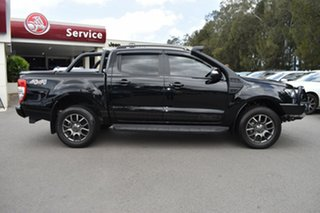 2017 Ford Ranger PX MkII FX4 Double Cab Black 6 Speed Manual Utility.