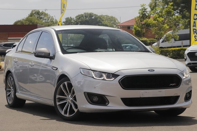 Used Ford Falcon FG X XR6 Turbo Toowoomba, 2015 Ford Falcon FG X XR6 Turbo Silver 6 Speed Sports Automatic Sedan