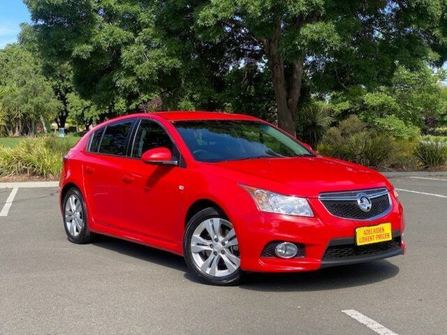 Used Holden Cruze JH Series II MY13 SRi Enfield, 2013 Holden Cruze JH Series II MY13 SRi Red 6 Speed Manual Hatchback