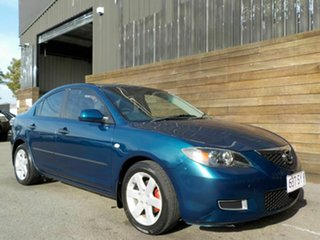 2006 Mazda 3 BK10F2 Neo Blue 5 Speed Manual Sedan.