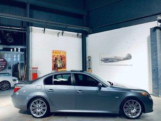 2006 BMW 5 Series E60 525i Steptronic Grey 6 Speed Sports Automatic Sedan.