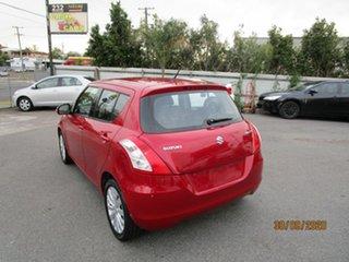2011 Suzuki Swift FZ GLX Red 5 Speed Manual Hatchback