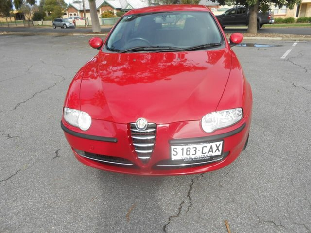 Used Alfa Romeo 147 MY2002 Twin Spark Broadview, 2003 Alfa Romeo 147 MY2002 Twin Spark Red 5 Speed Manual Hatchback
