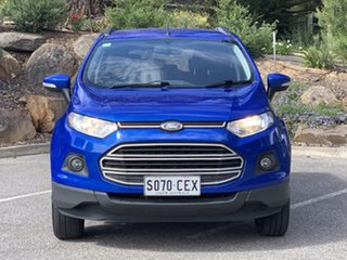 2014 Ford Ecosport BK Trend Kinetic Metallic/black 5 Speed Manual Wagon.