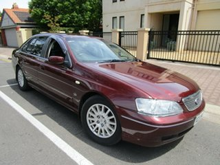 2003 Ford Fairlane BA Ghia 4 Speed Automatic Sedan.