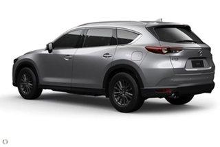 2020 Mazda CX-8 KG2WLA Sport SKYACTIV-Drive FWD Silver 6 Speed Sports Automatic Wagon