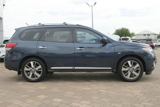 2014 Nissan Pathfinder R52 MY14 Ti X-tronic 4WD Blue 1 Speed Constant Variable SUV