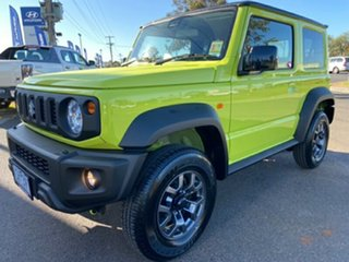 2020 Suzuki Jimny JB74 Yellow 5 Speed Manual Hardtop.