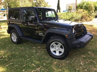 2015 Jeep Wrangler JK MY2015 Sport Black 5 Speed Automatic Softtop.