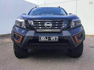 2019 Nissan Navara D23 S4 MY20 N-TREK Warrior Cosmic Black 7 Speed Sports Automatic Utility.