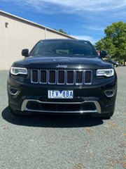 2015 Jeep Grand Cherokee WK MY15 Overland Black 8 Speed Sports Automatic Wagon