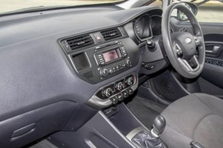 2013 Kia Rio UB MY13 S White 6 Speed Manual Hatchback