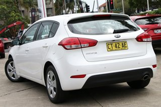 2016 Kia Cerato YD MY16 S White 6 Speed Automatic Hatchback.