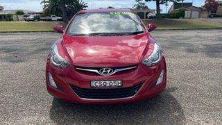 2014 Hyundai Elantra MD3 SE Brilliant Red 6 Speed Sports Automatic Sedan.