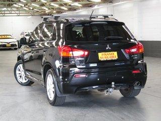 2010 Mitsubishi ASX XA MY11 Aspire Black 6 Speed Manual Wagon