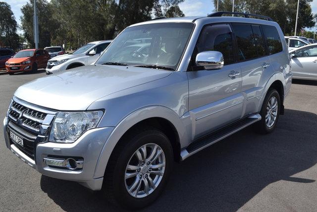 Used Mitsubishi Pajero NX MY15 Exceed Maitland, 2014 Mitsubishi Pajero NX MY15 Exceed Silver 5 Speed Sports Automatic Wagon