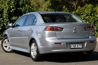 2013 Mitsubishi Lancer CJ MY14 LX Warm Silver 6 Speed Constant Variable Sedan.