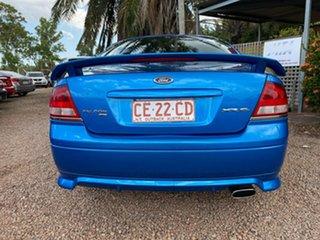 2002 Ford Falcon BA XR6 Blue 4 Speed Sports Automatic Sedan