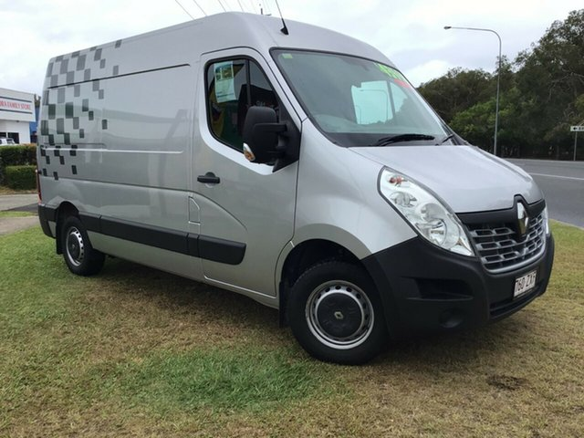Used Renault Master X62 Mid Roof MWB AMT Caloundra, 2015 Renault Master X62 Mid Roof MWB AMT Grey 6 Speed Sports Automatic Single Clutch Van