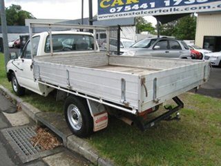 2003 Toyota Hilux RZN149R Workmate White 5 Speed Manual Cab Chassis