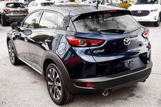 2020 Mazda CX-3 DK2W7A Akari SKYACTIV-Drive FWD Blue 6 Speed Sports Automatic Wagon.