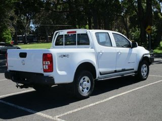 2015 Holden Colorado RG LS White Manual CREWCAB UTILITY.