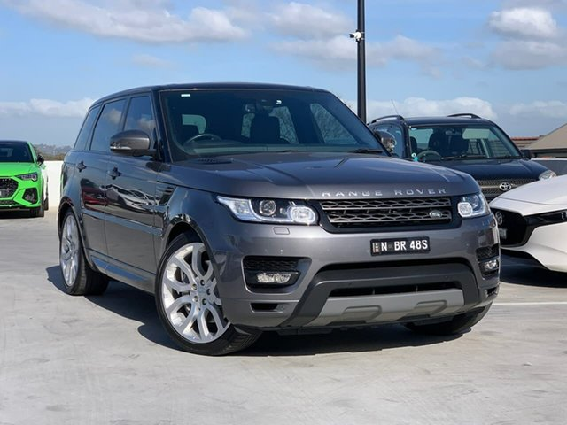 Used Land Rover Range Rover Sport L494 16MY SE Liverpool, 2015 Land Rover Range Rover Sport L494 16MY SE Grey 8 Speed Sports Automatic Wagon