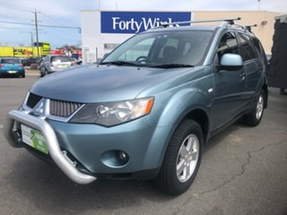 2008 Mitsubishi Outlander ZG MY08 VR (7 Seat) Green 6 Speed Auto Sports Mode Wagon