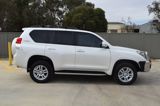 2009 Toyota Landcruiser Prado KDJ150R Kakadu Crystal Pearl 5 Speed Sports Automatic Wagon