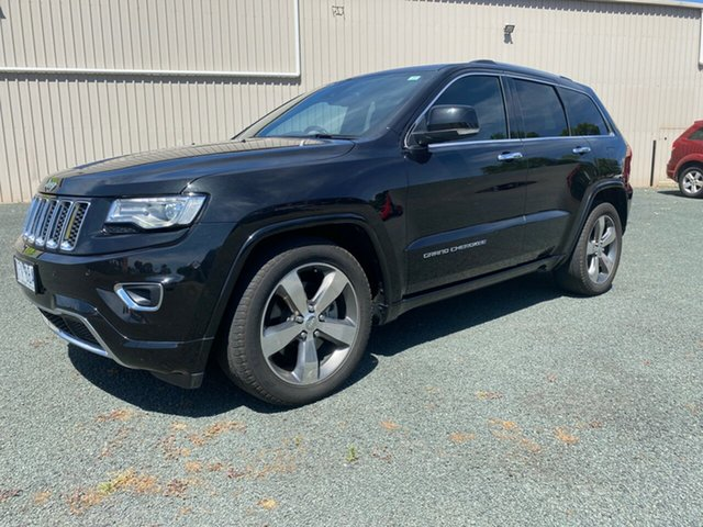 Used Jeep Grand Cherokee WK MY15 Overland Bendigo, 2015 Jeep Grand Cherokee WK MY15 Overland Black 8 Speed Sports Automatic Wagon