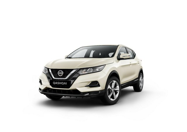 New Nissan Qashqai J11 Series 3 MY20 ST+ X-tronic Moorooka, 2020 Nissan Qashqai J11 Series 3 MY20 ST+ X-tronic Ivory Pearl 1 Speed Constant Variable Wagon