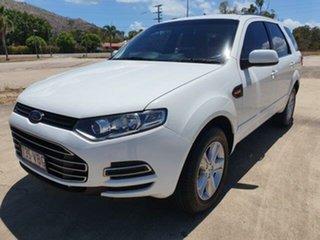 2014 Ford Territory SZ MkII TX Seq Sport Shift Winter White 6 Speed Sports Automatic Wagon