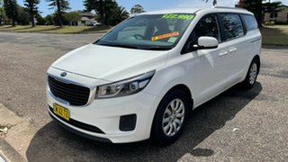 2015 Kia Carnival YP MY16 S Clear White 6 Speed Sports Automatic Wagon.