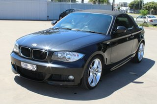 2011 BMW 120i E88 MY11 Black 6 Speed Automatic Convertible.