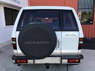 2002 Holden Jackaroo U8 MY02 SE White 4 Speed Automatic Wagon
