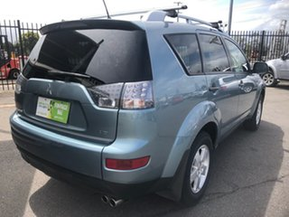 2008 Mitsubishi Outlander ZG MY08 VR (7 Seat) Green 6 Speed Auto Sports Mode Wagon.