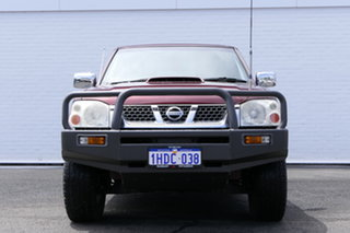 2009 Nissan Navara D22 MY2008 ST-R Maroon 5 Speed Manual Utility.