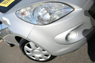 2011 Hyundai i20 PB MY11 Active Sleek Silver 4 Speed Automatic Hatchback.
